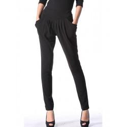 Frauen OL Chiffon  Hosen Mode dünne Harem Hose in Übergrößen