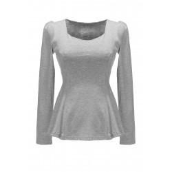 Women Sexy Long Sleeve Slim Waist Top Casual Shirts