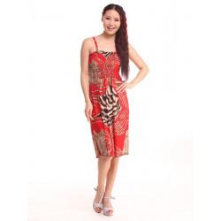 Frauen reizvolle Sommer Böhmen Sleeveless Halter Bügel Strand Kleid 7 Farben