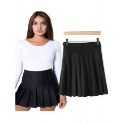Women Slim High Waist Pleated Tennis Skirts Playful Mini Dress