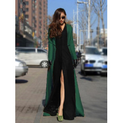 Women Winter Warm Wool Long Or Short Jacket Coat