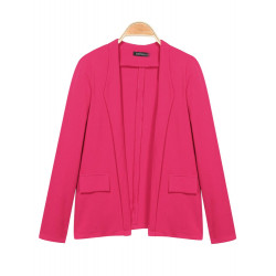 Zanzea 4 Colors Long Sleeve Cotton Blazers