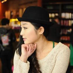 Zanzea®Dome Woolen Crimp Hat