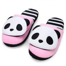 Herbst Winter warmen netten Panda Startseite Schuhe weichen Boden Hausschuhe