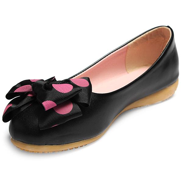 Bowknot Ballett flache Ballerinas Schuhe Damen Schuhe