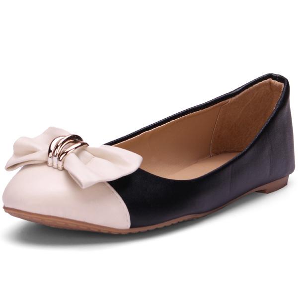 Bowknot Ballett flache Schuhe Damen Schuhe