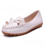 Bowknot Loafers beiläufige flache Schuhe Damen Schuhe
