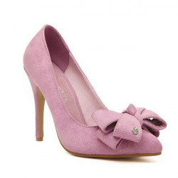 Bowknot Thin High Heel Women's Shoes