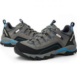 Clorts Women Waterproof Breathable Leather Walking Shoes
