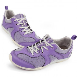 Clorts Women's Purple Breathable PU Running Trail Shoes