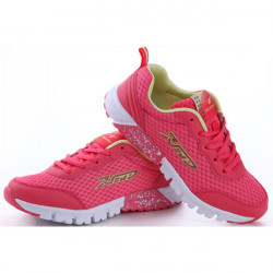 DELOCRD Women Mesh Lace Up Casual Running Sneaker Tennis Shoes