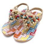 Flower  T-Strap Casual Sandals Women's Shoes