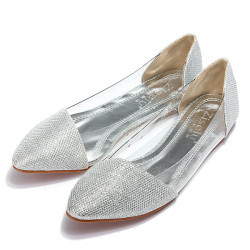 Glitter Flat Loafers Shoes