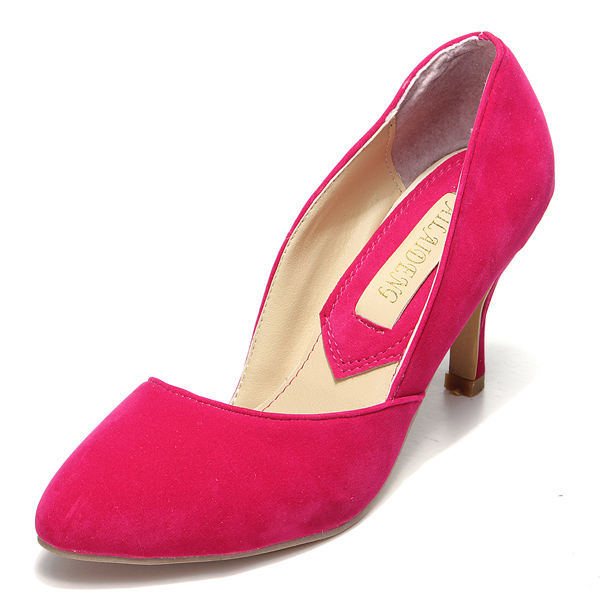 High Heel Shallow Mouth Pumps Women's Shoes