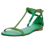 Hollow Out Buckle Flat Sandals Women's Shoes