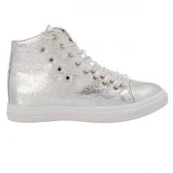 Lace Up Canvas Sneaker Women Shoes