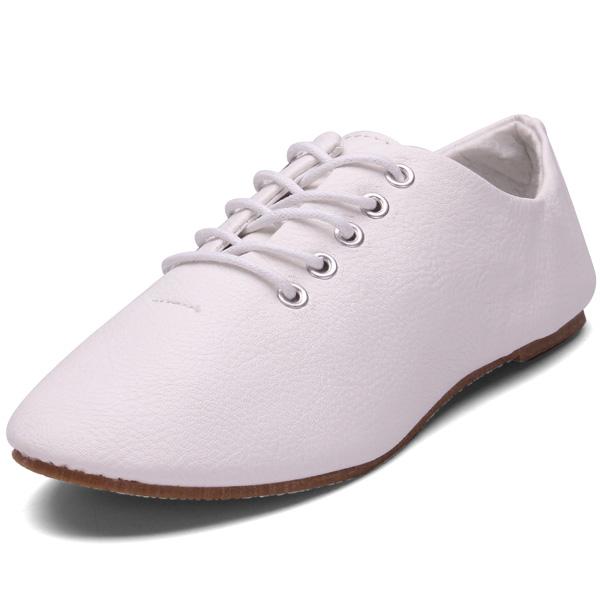 Flache Schnürschuhe Damen Schuhe
