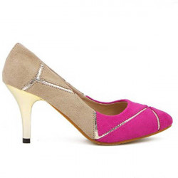 OL Stiletto Pointed Toe Suede Pumper