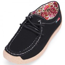 Pedal Breathable Flat Suede Women Shoes