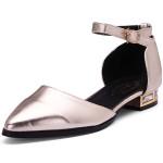 Glänzende Spitzschuh Schuhe Fersen Ballettschuhe römischen Stil Sandalen Damen Schuhe