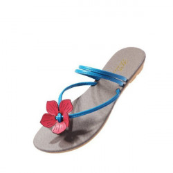 Søde Blomst Flat Casual Slippers