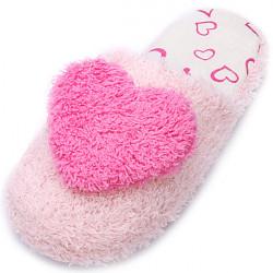 Sweet Heart Plush Indendørs Slippers