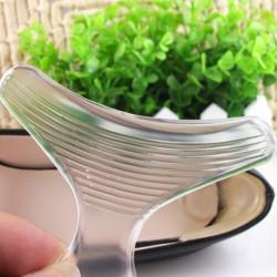 T Shape Transparent Silikone Fodplejer Gel Cushion Pads Indlægssåler