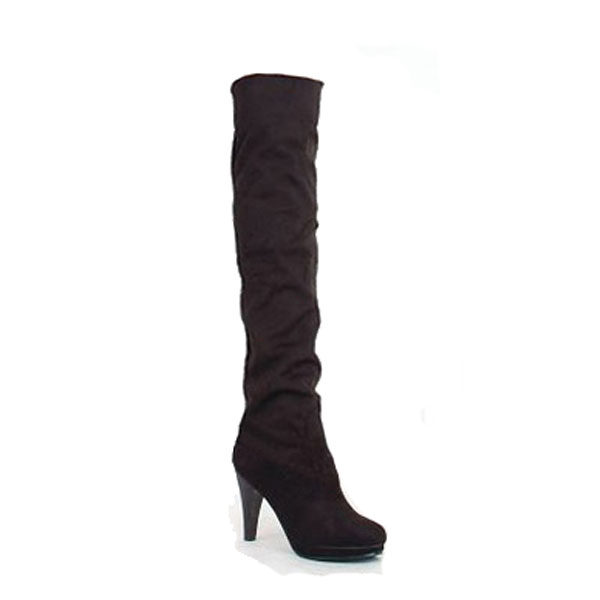 Tall Canister Heel High Women Boots Women's Shoes