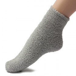 Vinter Varm Kvinder Tykkere Coral Fleece Fluffy Ankle Socks