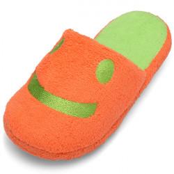 Kvinder Candy Color Smilende Ansigt Vinter Hjem Slippers