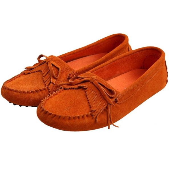 Frauen flache Quaste Schuhe Damen Schuhe