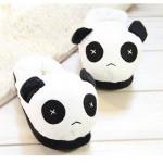 Kvinnor Män Lovers Söt Panda Home Tofflor Damskor
