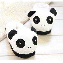 Women Men Lovers Cute Panda Home Slippers