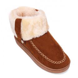 Women Winter Warm Cotton Snow Boots Soft Flat Shoes