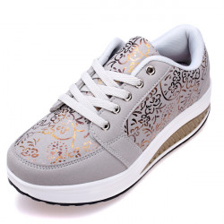 Frauen Casual Shake Turnschuhe Anti Rutsch Plattform Schuhe