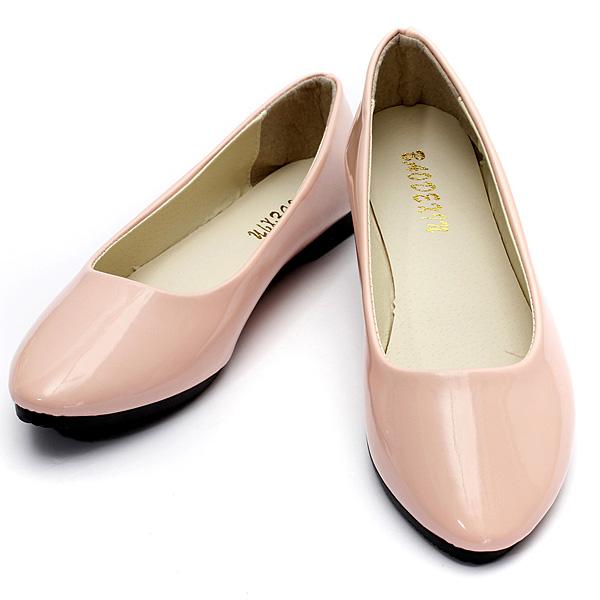 Frauen flache Pumps Damen Ballerina Beleg auf Dolly Ballettschuhe Slipper Damen Schuhe