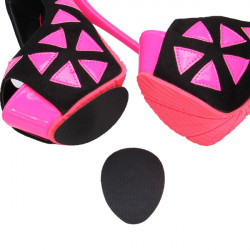 Women's High Heels Non-slip Mat Silicone Rubber Forefoot Pads