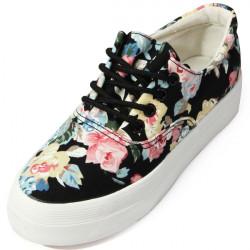 Women's Vintage Floral Flat Shoes