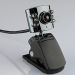 10.0m Pixel USB 6 Led kamera webbkamera med mikrofon för PC Laptop