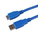 1,5 m USB 3.0 Typ A Stecker an Micro B Verlängerungskabel für die Daten Computer Komponenten