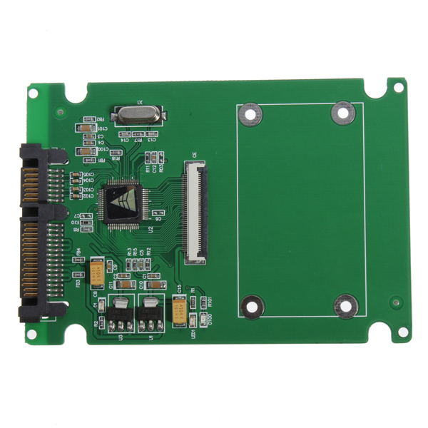 1,8 ZIF / LIF HDD Festplatte SSD bis 7 + 15 22 Pin SATA Adapter