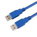 1m USB 3.0 Type A Male to Type A Male Extension Cable for Data Computer Components