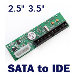 """2,5"""" / 3,5 Zoll Laufwerk SATA ATA IDE Konverter Adapter"""