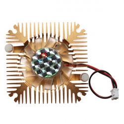 2 Pins 55x55x11mm 12V 0.1A Kühlkörper CPU Lüfter PC Computer