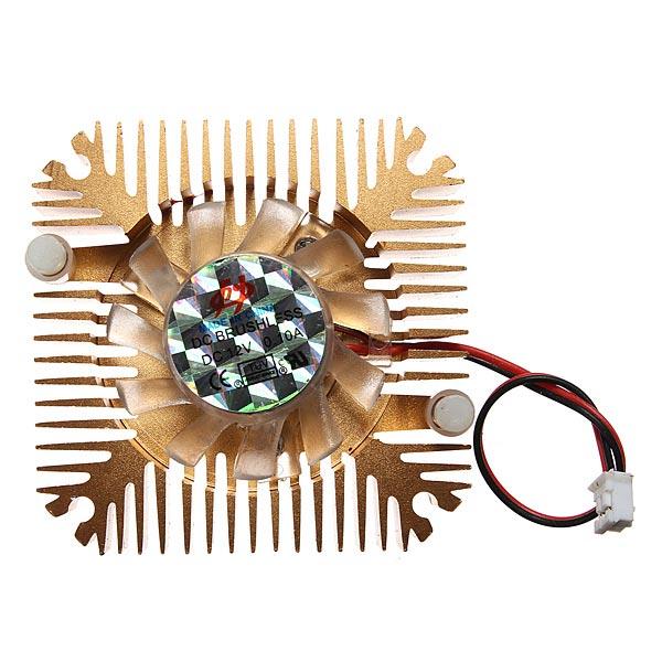 2 Pins 55x55x11mm 12V 0.1A Kühlkörper CPU Lüfter PC Computer Computer Komponenten