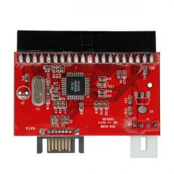 3.5 IDE HDD zu SATA 100/133 Serial ATA Konverter Adapter + Kabel