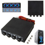 3.5 Inch 4 Channel CPU Cooling Fan Speed Controller for Desktop Computer Components