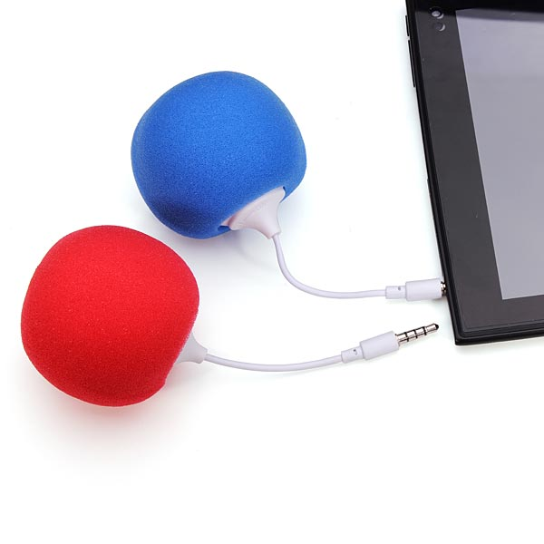 3.5mm Mini Portable Candy Balloons Music Speaker Computer Speakers