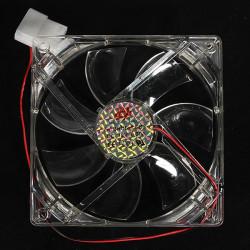 4 Pins 120x120x25mm 12V 0,30A Kühlkörper CPU LED Lüfter PC Computer