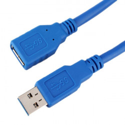 50cm USB 3.0 Type A Male to A Female Extension Cable
